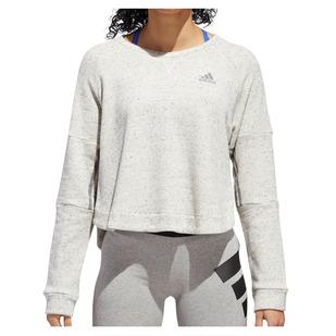 Sport To Street - Women's Cropped Fleece Sweatshirt