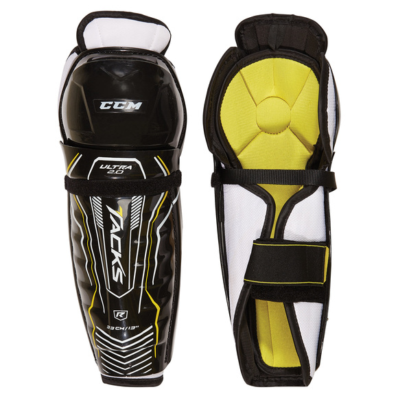 Ultra Tacks 2.0 Y - Youth Hockey Shin Guards