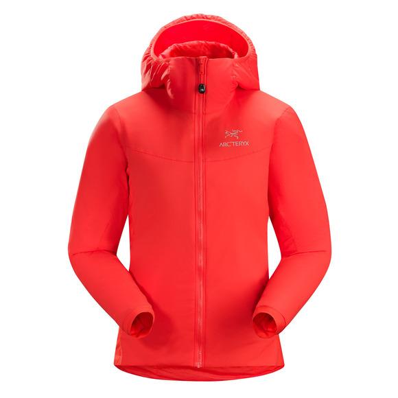 Atom LT - Manteau isolé à capuchon pour femme