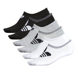 Trefoil No Show - Women's Ankle Socks ((Pack of 6)