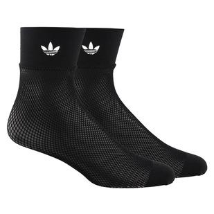 Fashion Fishnet - Women's Ankle Socks