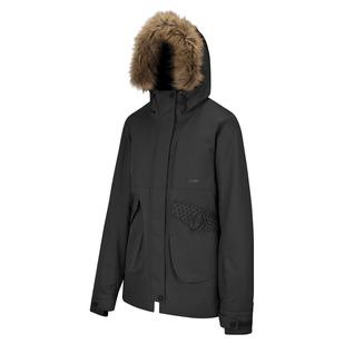 Lynx - Manteau isolé à capuchon pour femme