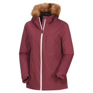 Seeker - Manteau isolé à capuchon pour femme