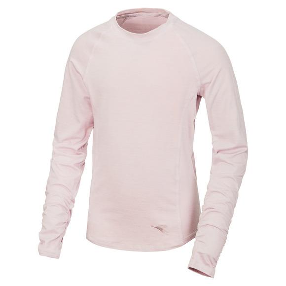 Raglan Tech - Girls' Long-Sleeved Shirt