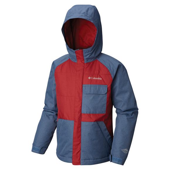 Casual Slopes - Manteau isolé mi-saison pour garçon