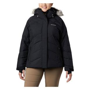 Lay D Down II (Plus Size) - Women's Hooded Winter Jacket
