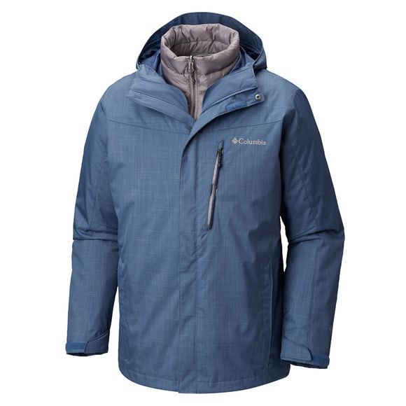 022698fc05a COLUMBIA Whirlibird III IC - Men s 3-in-1 Hooded Winter Jacket ...