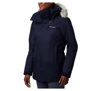 Emerald Lake (Plus Size) - Women's Hooded Winter Jacket