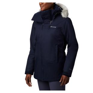 Emerald Lake - Women's Hooded Winter Jacket