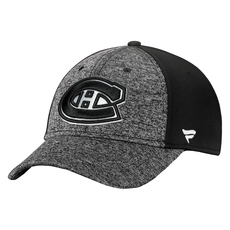 Black and White Speed Flex Fit - Adult Stretch Cap