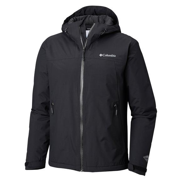 Top Pine (Plus Size) - Men's Insulated Rain Jacket