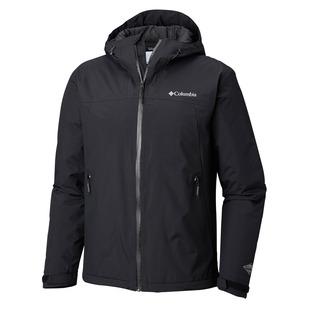 Top Pine (Taille Plus) - Manteau de pluie isolé pour homme