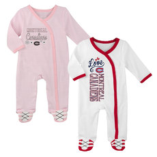 Love Coverall (3M-6M-9M) - Newborn Set of 2 Pajamas