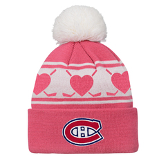 Hearts (4-6X) - Kids' Knit Tuque