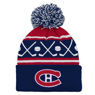 Hockey (4-6X) -Tuque en tricot pour enfant