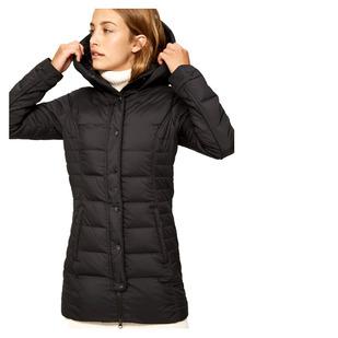 Gisele - Manteau mi-saison isolé en duvet pour femme