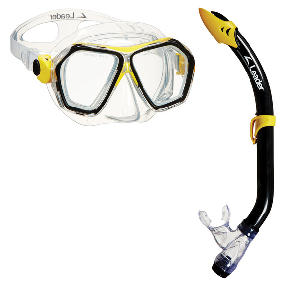 Maunaloa - Adult's Mask And Snorkel Set