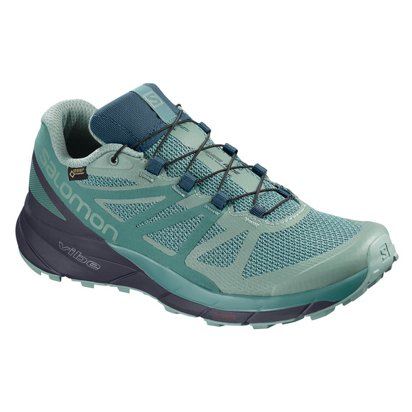 online store 0cb89 93864 SALOMON Sense Ride GTX Invisible Fit - Women s Trail Running Shoes   Sports  Experts