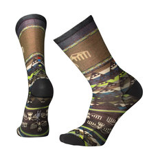 Bird Geo Print - Men's Crew Socks