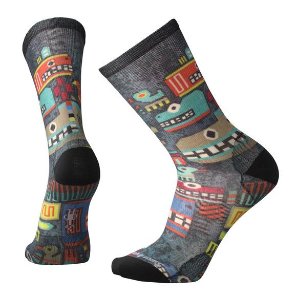 Totem Monster Print - Chaussettes coussinées pour homme