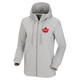 Canadian Olympic Team Leaf - Women's Fleece Full-Zip Hoodie - 0