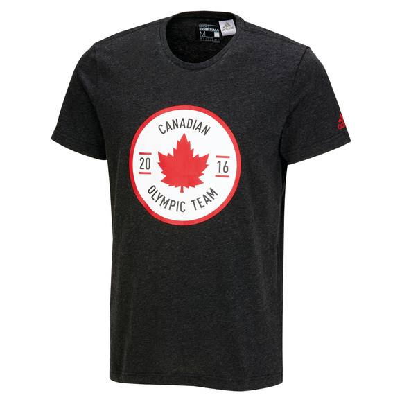 Canadian Olympic Team Crest - T-shirt pour homme