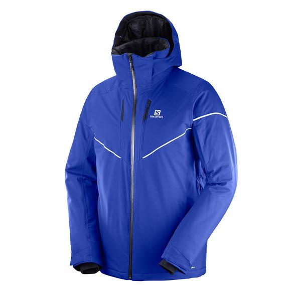 Stormrace - Manteau d'hiver à capuchon pour homme