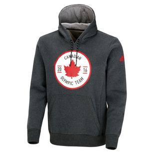 Canadian Olympic Team Crest - Chandail à capuchon pour homme