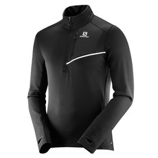 Fast Wing Mid - Men's Half-Zip Long-Sleeved Shirt
