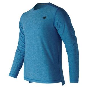Space Dye - Men's Running Long-Sleeved Shirt