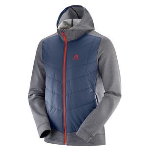 Pulse Hybrid - Manteau isolé à capuchon pour homme