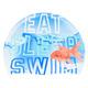 Silicone Print - Casque de bain en silicone - 0