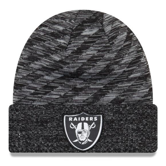 NFL18 Sport Knit BLKWHI - Tuque pour adulte