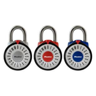 1588D - Combination dial padlock