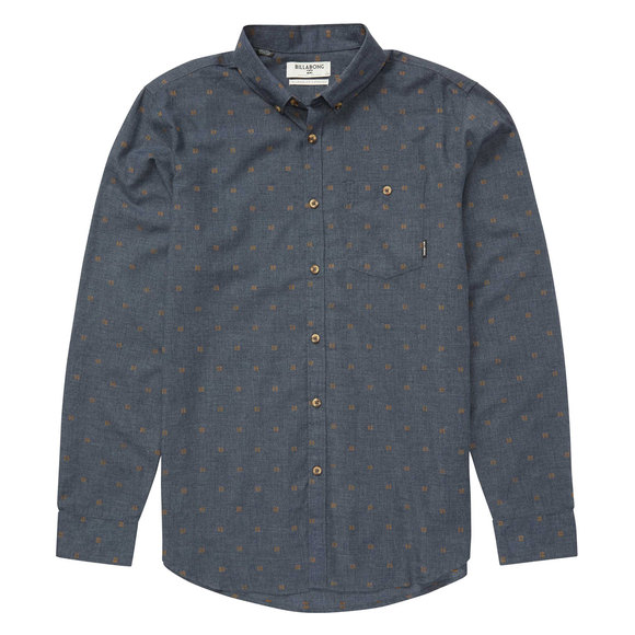 All Day Jacquard - Men's Long-Sleeved Shirt
