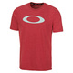 O-Bold Ellipse - Men's T-Shirt  - 0