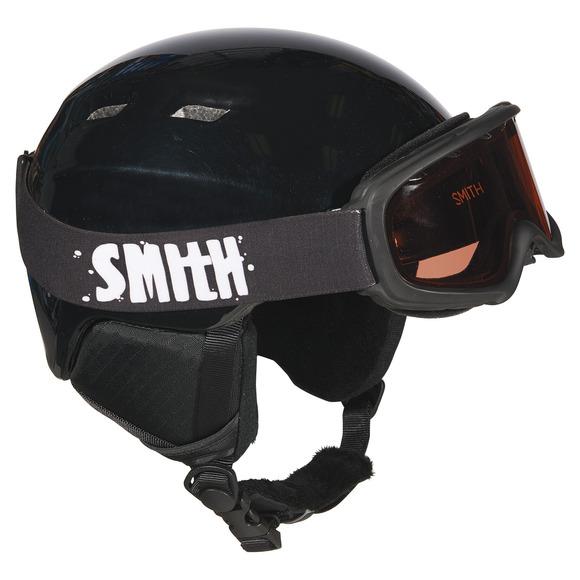Zoom/Gambler Combo - Boys' Winter Sports Helmet And Goggle Set