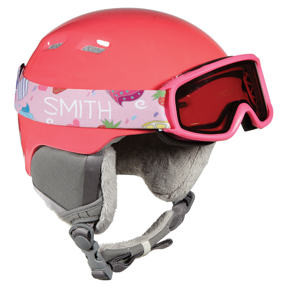 Zoom/Gambler Combo - Boys' Winter Sports Helmet And Goggle Set