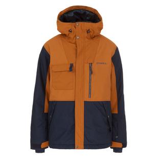 PM Hybrid Utility - Manteau d'hiver à capuchon