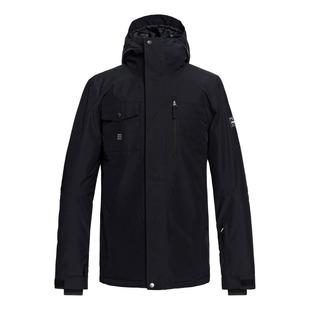 Mission Solid - Manteau d'hiver à capuchon pour homme
