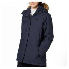 Snowbird - Manteau d'hiver à capuchon pour femme
