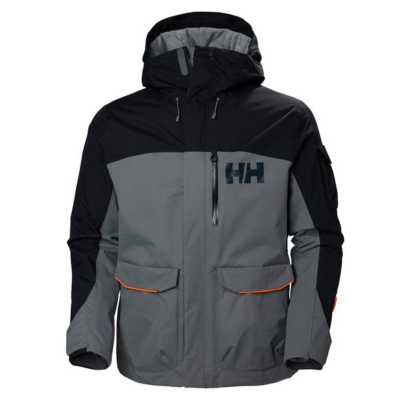 Fernie 2.0 - Manteau d'hiver à capuchon pour homme