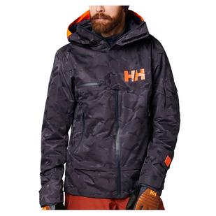 Garibaldi - Manteau d'hiver à capuchon pour homme