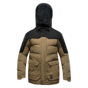 Redford - Manteau d'hiver à capuchon pour homme