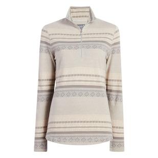 Mile Run II - Women's Half-Zip Sweater