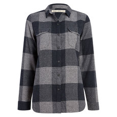 Eco Rich - Women's Long-Sleeved Flannel Shirt