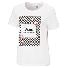 Boxed Rose Checks - Women's T-Shirt