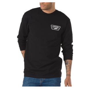 Full Patch Back - Men's Long-Sleeved Shirt