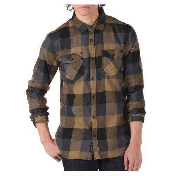Manches Vans Chemise À Pour Flannel Homme Box Longues 8n0kwOP