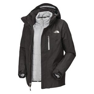 Alkali Triclimate - Manteau à capuchon 3 en 1 pour femme